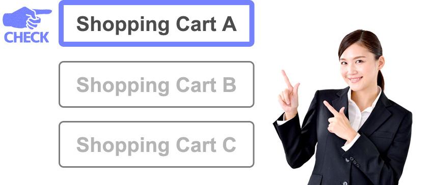 運用方法に応じたASPカートをご提案
